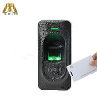 Biometric Controllers Fingerprint Standalone Access Control ZK Inbio Series FR1200 With RFID Fingerprint Reader