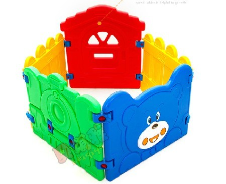Plastic ocean ball pool child fence game fence playpen fence 5