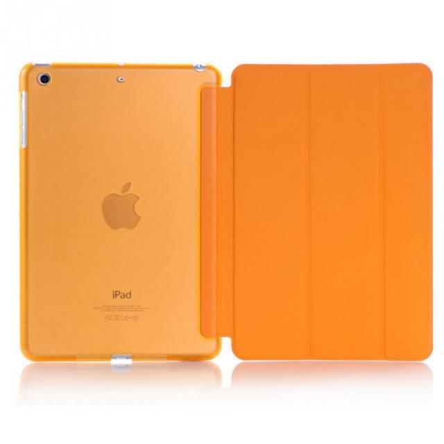 New For iPad Mini 3 2 Transparent Clear Leather Cover Case ET00070