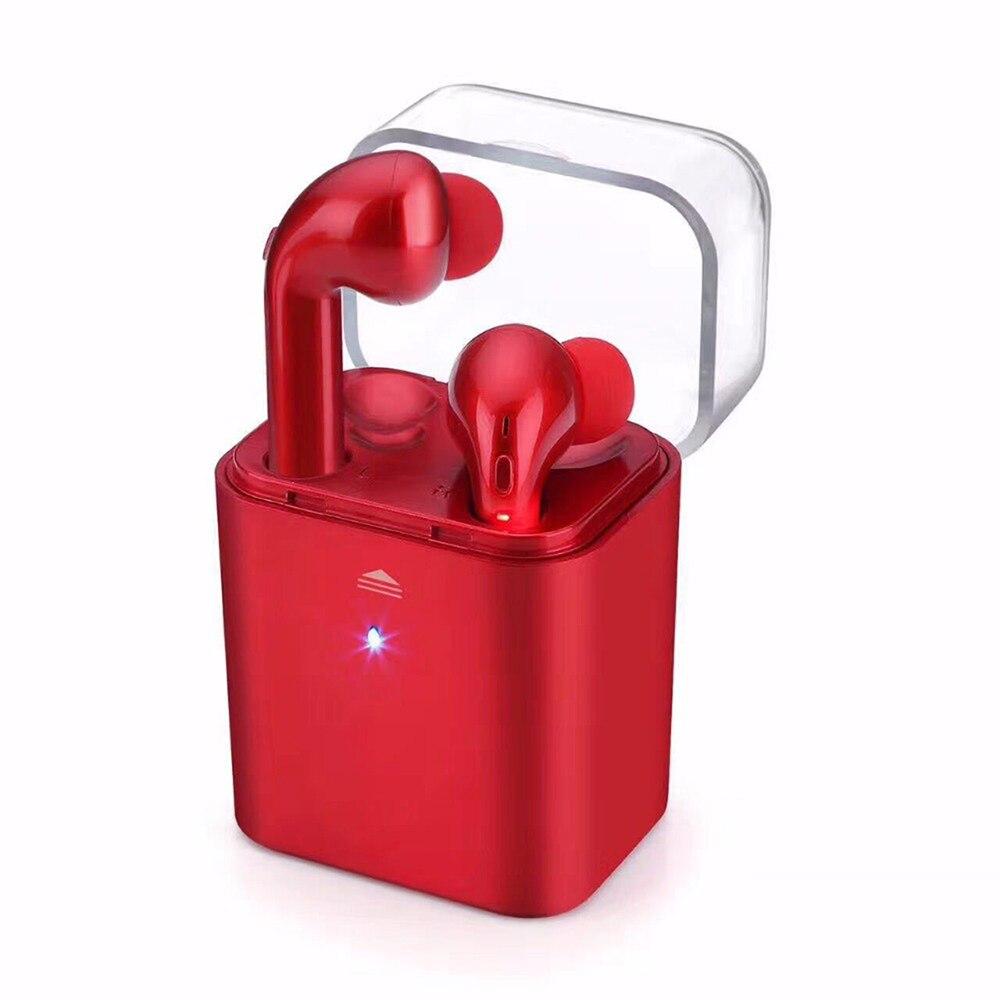 FUN7 jumeaux Bluetooth casque écouteurs avec boîte de charge mains libres casque sans fil écouteurs pour iPhone 7 Huawei Xiaomi
