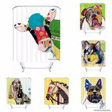 Custom Style Cartoon Horse Waterproof Shower Curtain Home Bath Bathroom S Hooks Polyester Fabric Multi Sizes180509