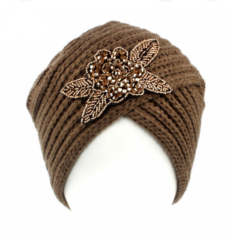 2016 New Fashion women winter warm hats India cap for women Turban hats women's head wrap cashmere warm hats Beanies pastoralism and agriculture pennar basin india
