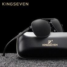 KINGSEVEN 2019 Brand Men Aluminum Sunglasses Polarized UV400