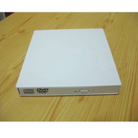 Free Shipping USB DVD Burner Combo USB Drives Notebook External Drive White Outer COMBO