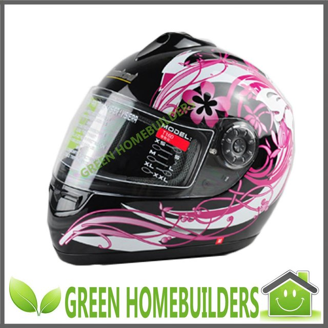 motorcycle full face helmet T160 ,Washable liner, M , L , XL size , Easy to remove mirror seat system ,Triple protective lenses