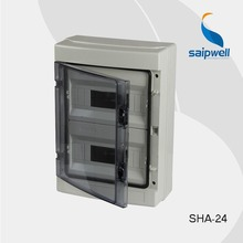 24P Distribution Box  IP65 Electrical ABS Waterproof Box Waterproof Distribution Box  415*300*140 mm (SHA-24)