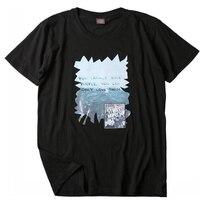Kaydedebilirsiniz Insanlar T Gömlek Kadın Harajuku Moda Yaz Tops Vintage Eski Fotoğraf Baskı Kısa Kollu Siyah T Gömlek Çift Gömlek