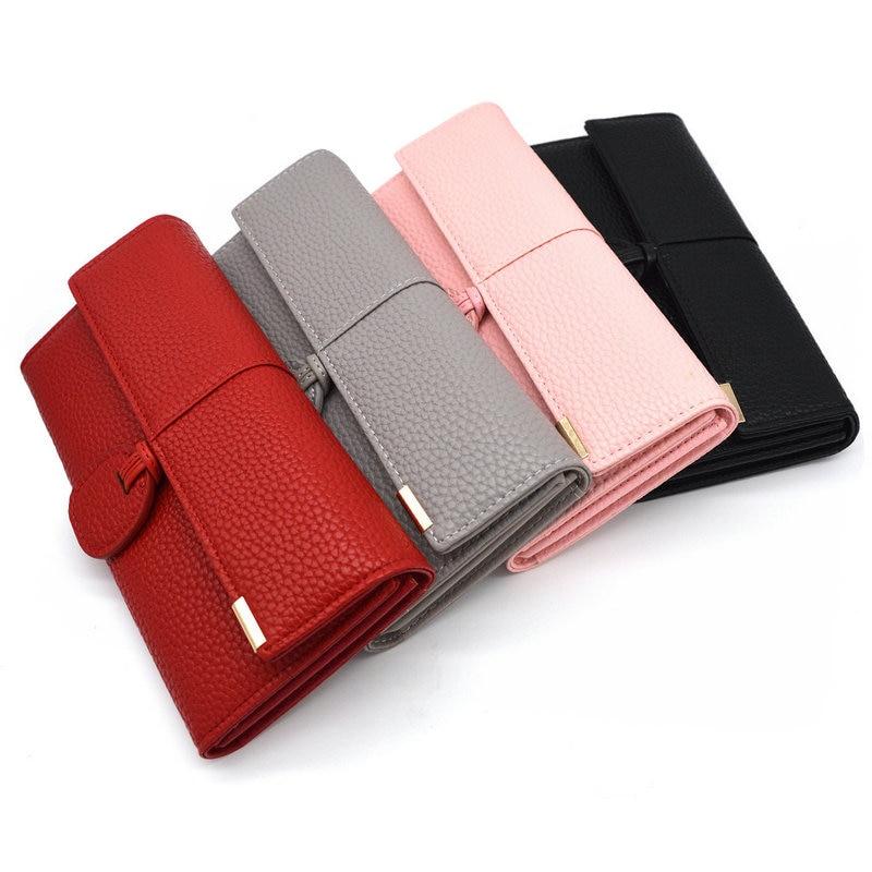 portefeuilles de luxe femmes nouveau design en cuir sacs main de marque femme portefeuille. Black Bedroom Furniture Sets. Home Design Ideas