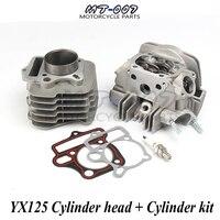 Engine Cylinder Barrel Head & Cylinder Gaskets Kit for YX125 125CC Atv Bike OEM
