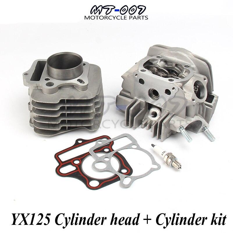 Kit de joints de culasse et de cylindre de cylindre de moteur pour YX125 125CC Atv vélo OEM