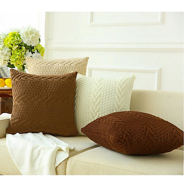 Arun Knitted Cushion Covers 2