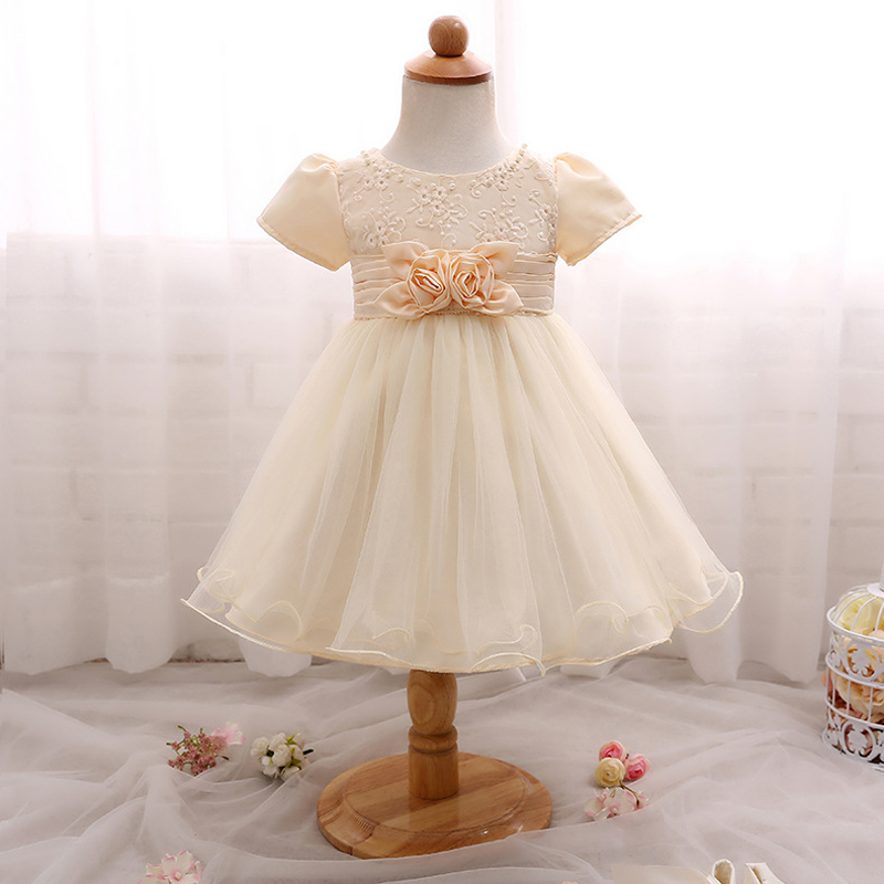 Buy dress champagne baby and get free shipping on AliExpress.com 82f58c2f7814