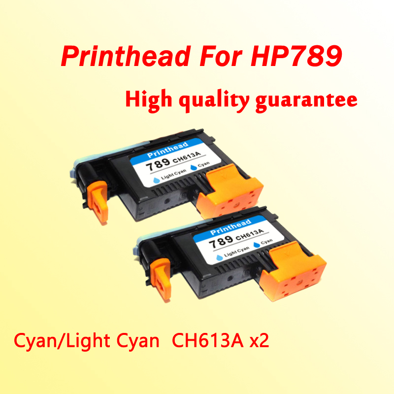 2x printhead for hp789 CH612A Cyan/Light Cyan compatible for hp 789  L25500 printer  1x 789 printhead yellow black for hp 789 l25500 printer head ch612a