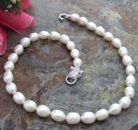 shitou 001623 SINGLE STRAND 11 13mm natural south sea white baroque pearl necklace