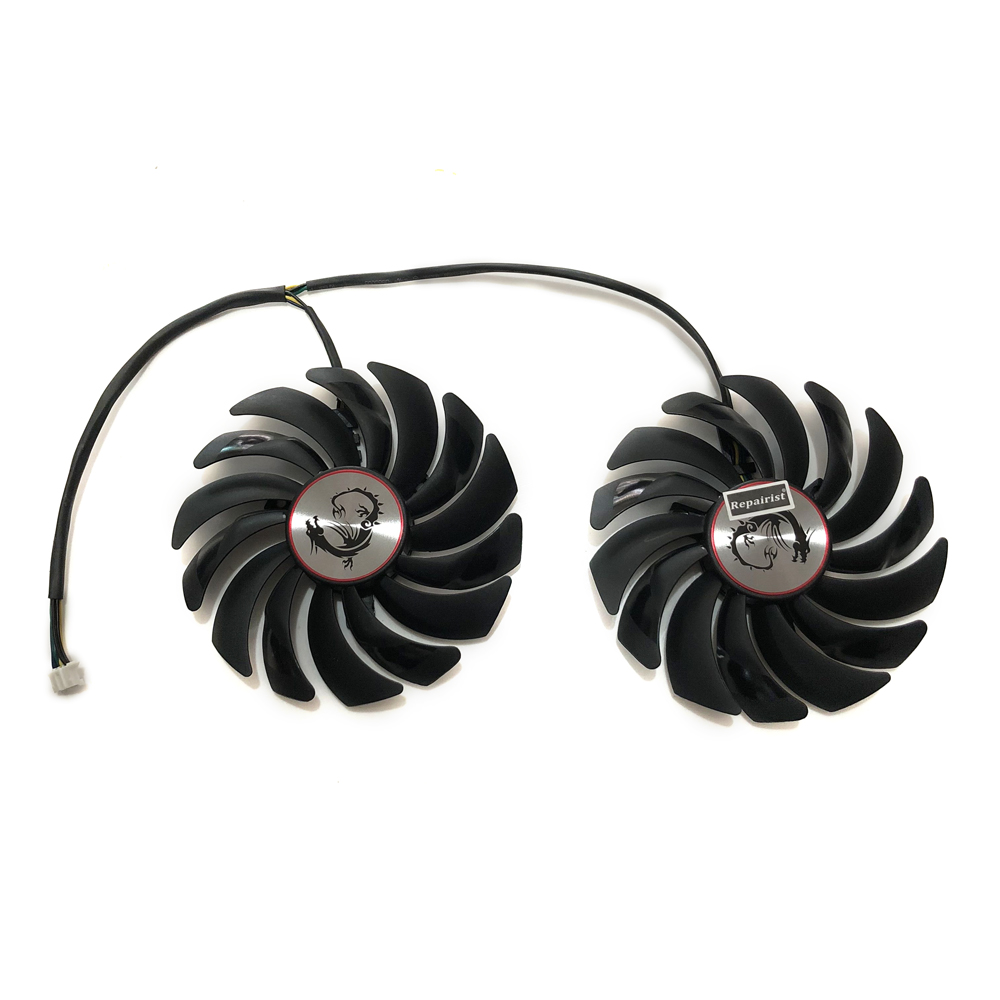 95MM PLD10010S12HH/PLD10010B12HH(alternative) GPU Cooler Fan For MSI GTX1080 GTX1070Ti GTX1080Ti Video Graphics Card Replacement new original 95mm pld10010s12hh 6pin graphics video card cooler fan for msi gtx 980 970 960 gaming dual fans twin cooling fan