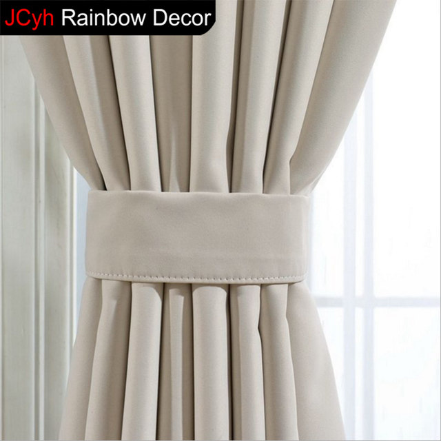 JRD Modern Blackout Curtains For Living Room Curtain Window Fabric  Treatments White Curtains For Bedroom Blinds Luxury Cortinas
