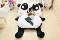 Fancytrader новинка 2015 Высокое качество Panda 210 см X 150 см супер мило огромный гигантская панда ковра татами диван кровать Бесплатная доставка FT90293