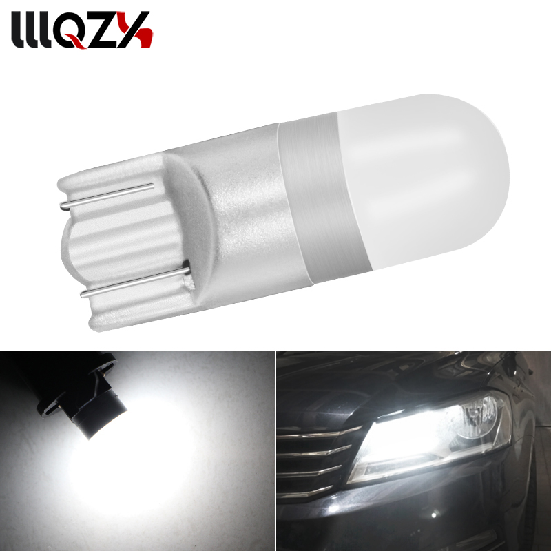 1PCS Car Light T10 W5W 168 3014 18 SMD Super Bright Wedge Lights bulbs Canbus No Error Led Parking Bulb Clearance Lamp 2pcs lot bright double no error t10 led 194 168 w5w canbus 6 smd 5050 led car interior bulbs light parking width lamps ea10691