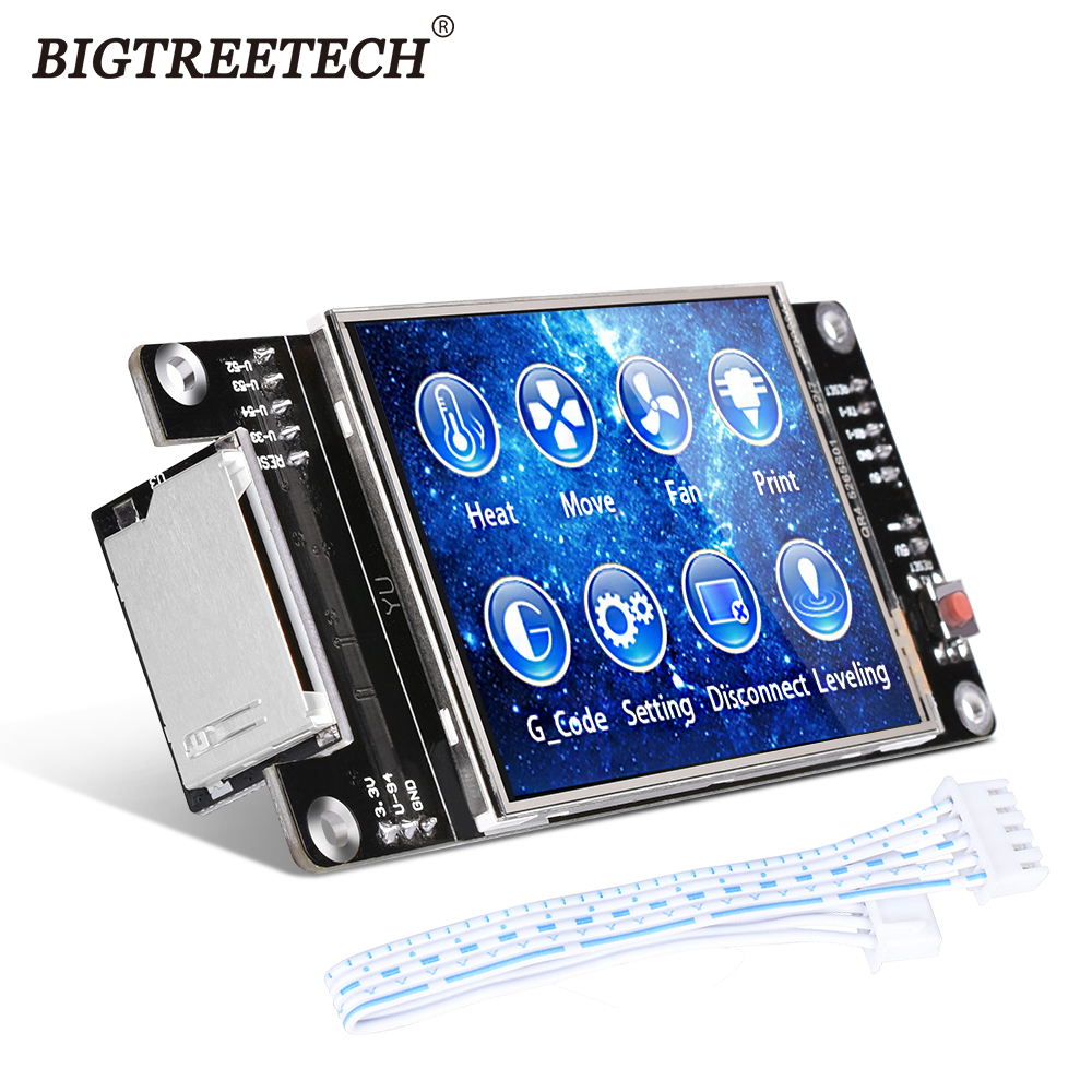 BIGTREETECH TFT28 Touch Screen Controller Display RepRap MKS 2.8 For SKR V1.3 SKR V1.4 MINI E3 3D Printer Motherboard