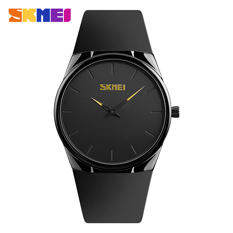SKMEI Men Women Quartz Wristwatches Light Thin Alloy Black Plating Case Waterproof Clocks Fashion Casual Sports Watches 1601S планшет digma plane 1601 3g ps1060mg black