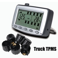 Tire Pressure Monitoring System Car TPMS With 6 Pcs External Sensors Truck Trailer RV Bus Miniature