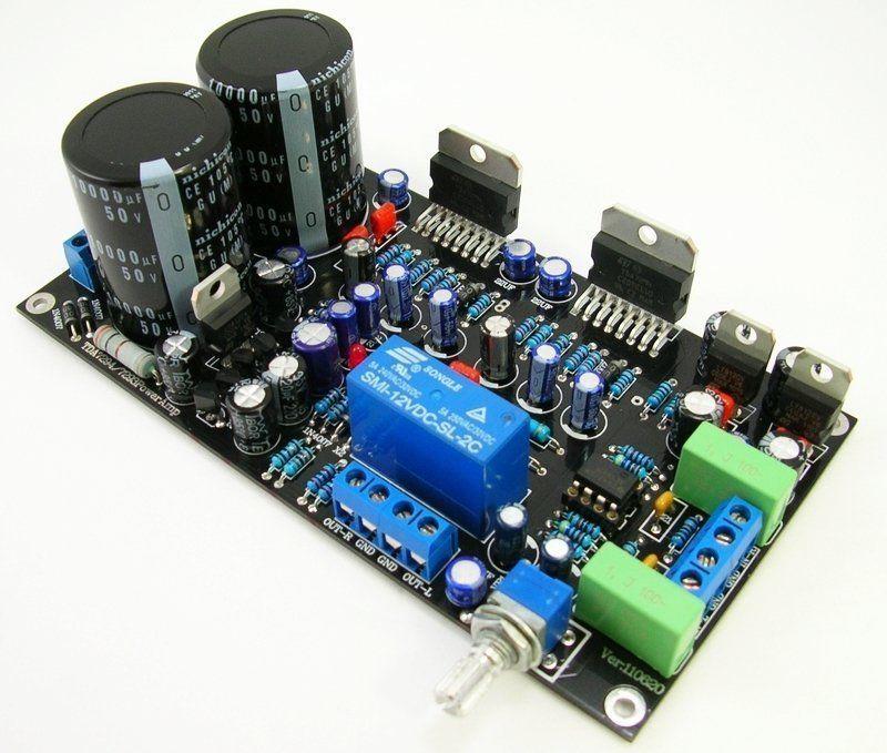tda7294 tda7293 circuito amplificador de potencia de audio amp board 80 w 80 w ac24 0