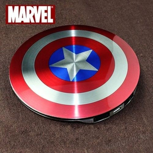 2016-Avengers-Captain-America-Shield-Power-Bank-Charger-USB-6800mAh-for-all-mobile-phone-with-Package (1)