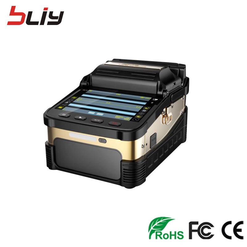 Free shipping FTTH fiber optic Ai 8 fusion splicer fibra optic SWITCH ftth fusionadora fibra optica