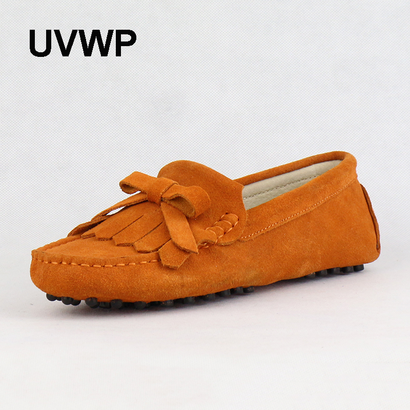 Lady Shoes Women Flats Genuine-Leather Moccasins Fashion New Casual High-Quality