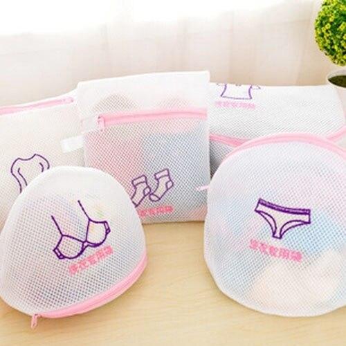 Swimming Bags Net Mesh Beach Swimming Storage Bag Mesh Swimming Beach Travel Female Bra Underwear Storage Swim Bag Сумка