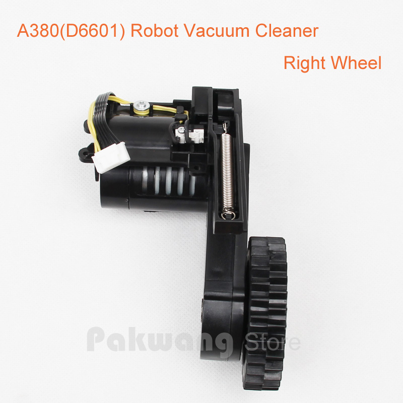Right Wheel *1 pc for A380 Robot Vacuum Cleaner Spare parts 1 piece robot vacuum cleaner wheels including right wheel assembly replacement for a320 a325