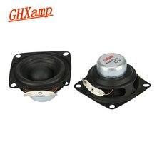 GHXAPM 2PC 2 cal 4OHM 12W pełnozakresowe głośniki magnetyczne NdFeB wysokiej mocy Alto Treble wokalny dźwięk pulpit PC głośnik DIY