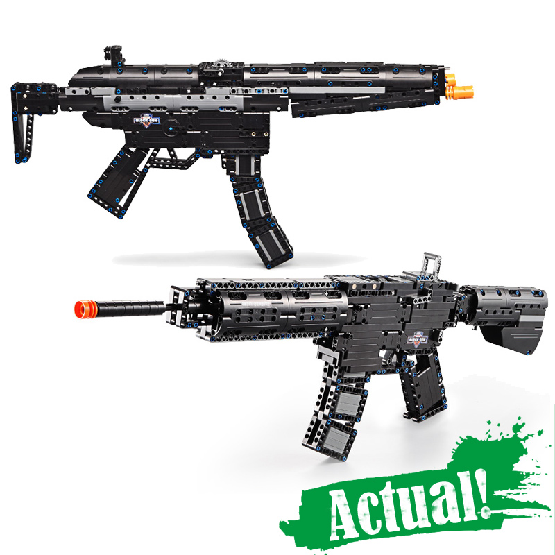 Revolver Pistol Power GUN SWAT Technic Military Army Model Building Blocks Brick Set Weapon Compatible legoingly Toys For Boys 8 in 1 military ship building blocks toys for boys
