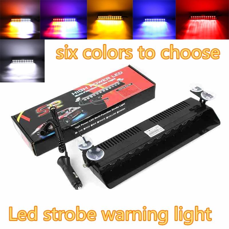 12 led Emergency Strobe Flasher car Auto Warning Light Police Light Fireman Caution Pilot Truck Beacons
