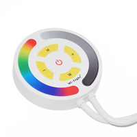 Milight YL1 Touch WIFI RGB Led Controller Amazon Alexa voice WIFI Smartphone APP 2.4G Remote Control Timer Function DC12 24V