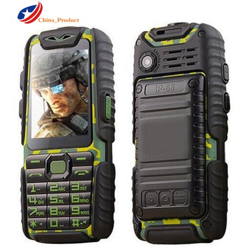 Guophone A6 9800mAH Power Bank Mobile Phones 2.4