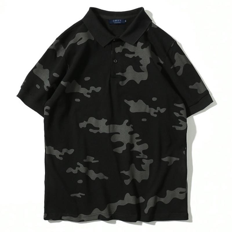 Mann Plus Größe Polo Shirts 9xl 8xl 7xl 6xl Polo Shirts Männlichen Kurzarm Polo Harajuku Grün Camisa Hip Hop Männlichen Oversize