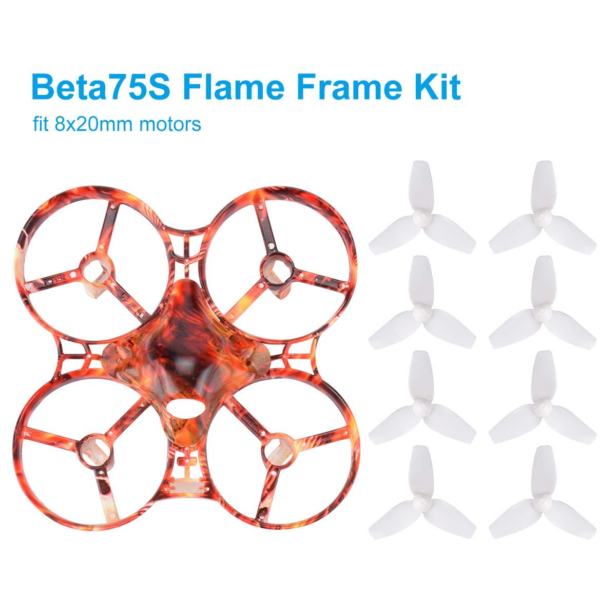 2pcs Beta75 Pro Micro Brushless Whoop Frame In Parts Accessories Happymodel Bwhoop65 65mm Tinywhoop Fpv Motor 0603 Betafpv Beta75s 75mm Kit Flame Freestyle With Canopy 40mm 3 Blade Props
