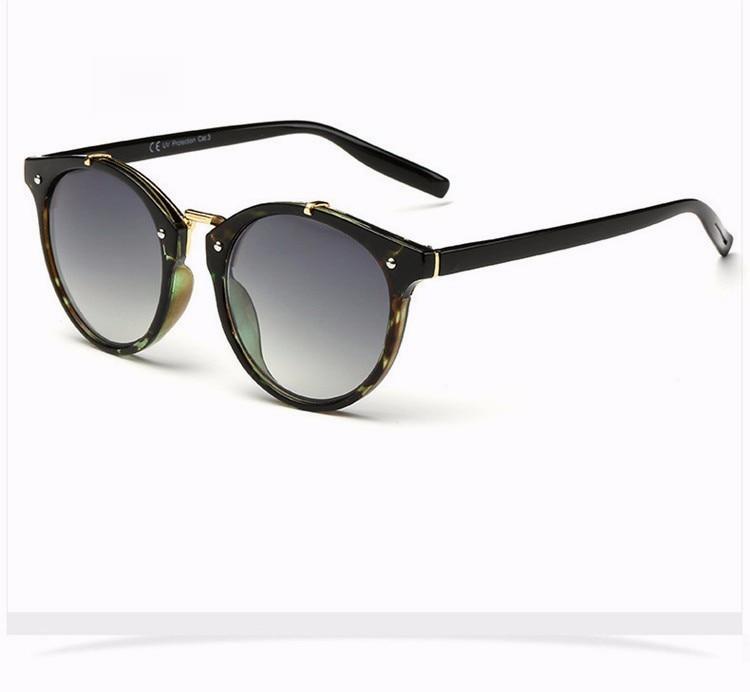 Fashion Vintage Round Sunglasses Women Men Brand Designer Retro Mirror Sunglass Ladies Female Male Sun Glasses For Women Glasses (27)