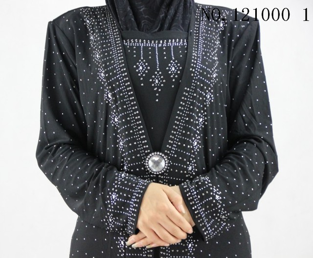 Crystal cotton Muslim  jilbab