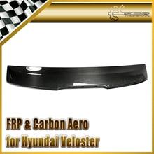 Автомобиль стайлинг Для Hyundai Veloster Turbo Углеродного Волокна OEM Задний Спойлер (С OEM стоп слот)