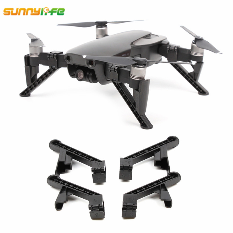 For DJI Mavic Air Landing Gear Extender Stabilizer Landing Feet Extended 32mm Air Gimbal Protector For DJI Mavic Air Drone