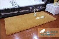 אולטרה רך קטיפה מיטת שטיח צמר לשטוף במים 80 160cm7