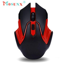 Mosunx Advanced Mini adapter Plug and play 2.4GHz Wireless Optical Gaming Mouse Mice For Computer PC Laptop  1PC