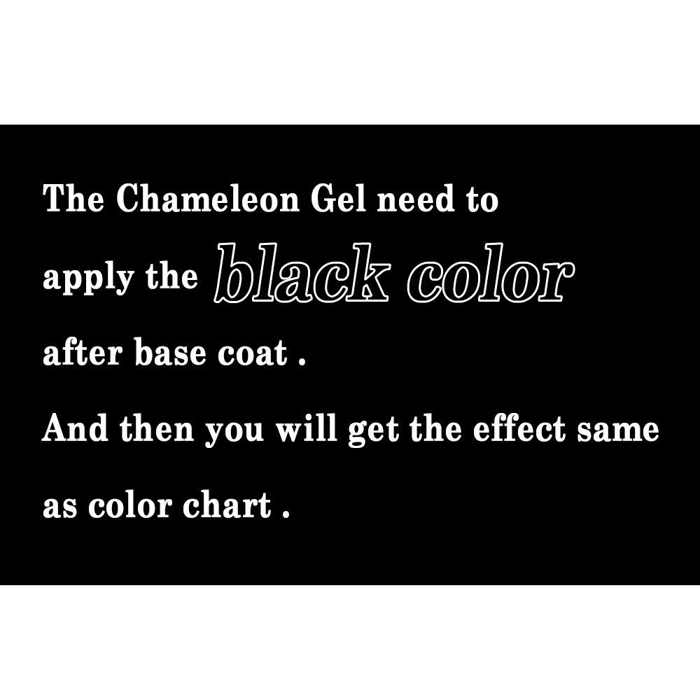 Esmalte para uñas IBDGEL Brand Chameleon (1 color negro + 9 colores - Arte de uñas - foto 5