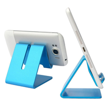 High Quality Universal Solid Aluminum Alloy Metal Mobile Phone Desktop Stand Mount Holder Stander Cradle For Phone/iPad цена и фото