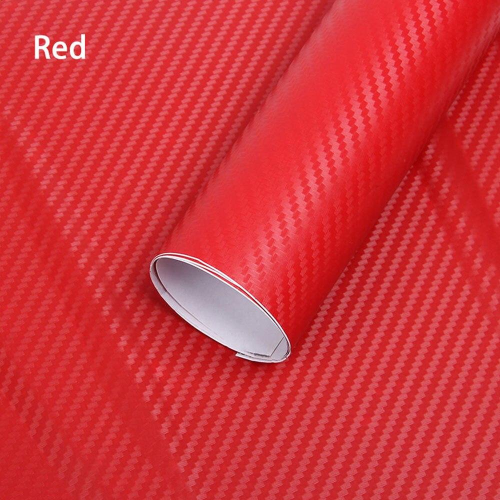 Carbon FiberVinyl Film HighGloss Car Wrap Roll Sticker Decal Sheet 127x30cm New