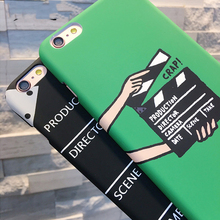 Movie pallets Pattern  Case For Iphone 5 5S SE 6 6S 7 7 Plus