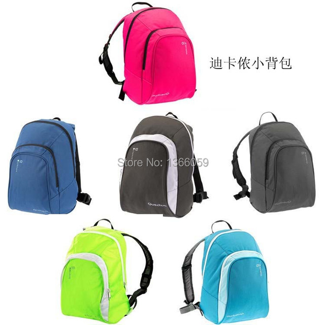 fc0287b15e Hot Sale Decathlon Movement Leisure Men & women Backpack Students School  bag Outdoor travel Small bags10L QUECHUA Free Shipping