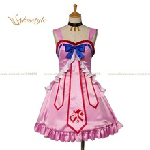 Kisstyle moda a conejo oscuro tiene siete vidas itsuka tenma no kuro usagi saitohimea himea saito cosplay uniforme